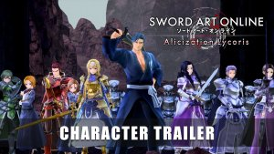 SAO Alicization Lycoris Character Trailer