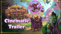 Hearthstone Scholomance Academy Cinematic