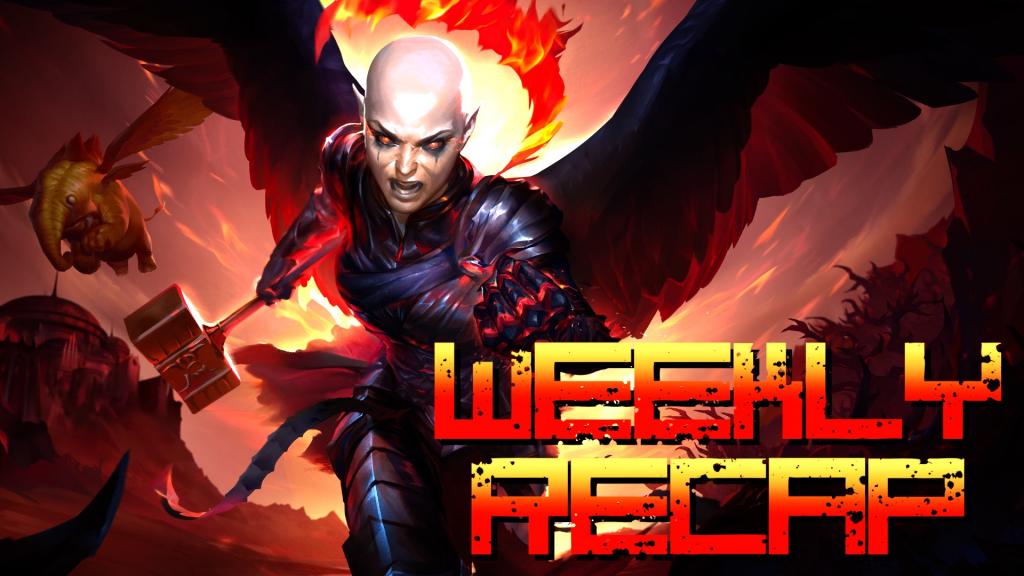 Weekly Recap (Neverwinter Avernus Art)