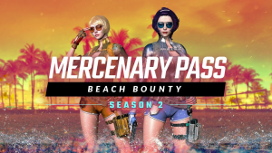 Crossfire Beach Bounty Mercenary Pass
