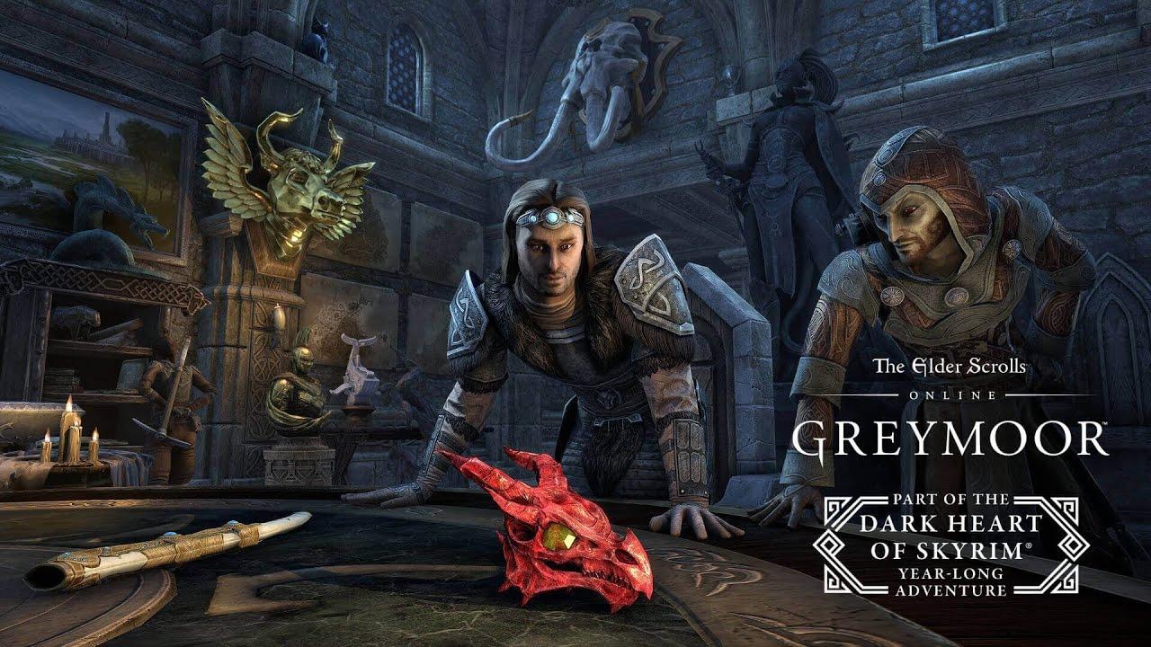 Elder Scrolls Online Greymoor Antiquities Trailer