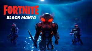 Fortnite Black Manta Trailer