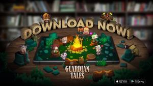 Guardian Tales Launch Trailer