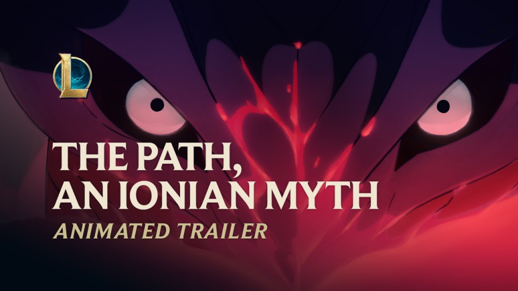 League of Legends The Path, An Ionian Myth Animated