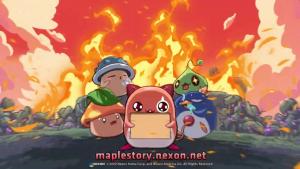 MapleStory Rise Burning World