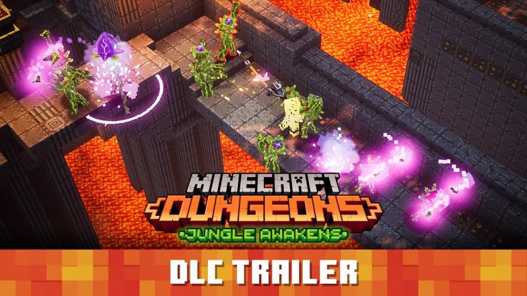 Minecraft Dungeons Jungle Awakens Official Launch