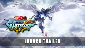 Mobile Suit Gundam Extreme Vs Maxiboost On Launch Trailer