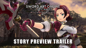 Sword Art Online Alicization Lycoris Story Preview