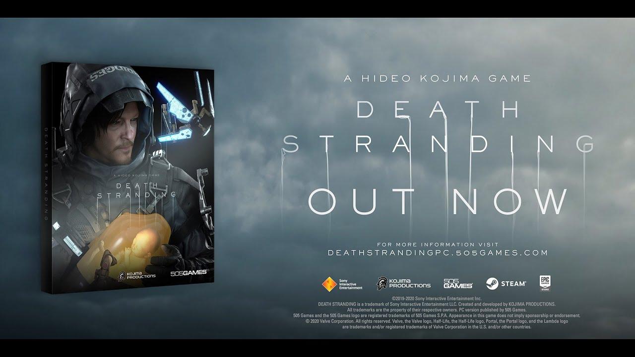 Death Stranding PC Launch Trailer