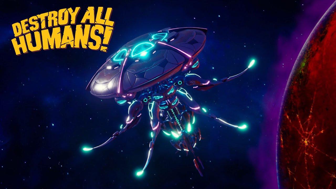 Destroy All Humans Launch Trailer