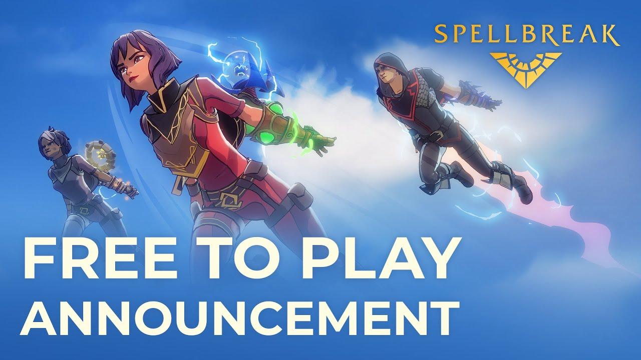 Spellbreak F2P Announcement
