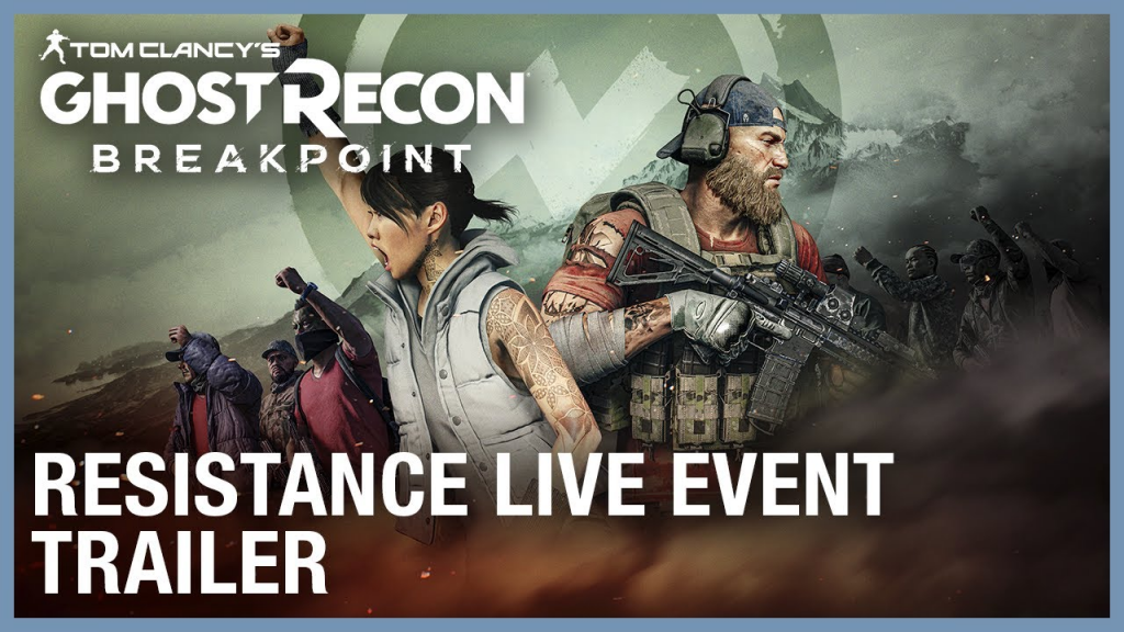 Tom Clancy's Ghost Recon Breakpoint Resistance Live Event