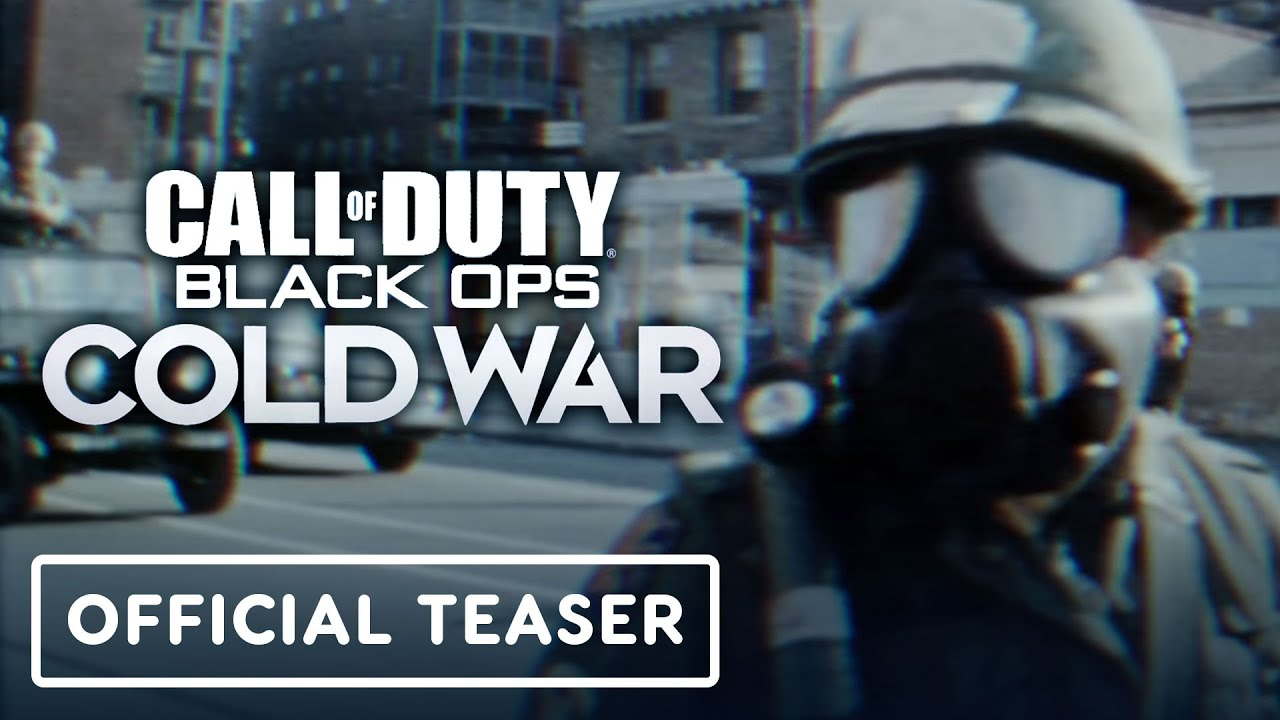 Call of Duty Black Ops Cold War Teaser