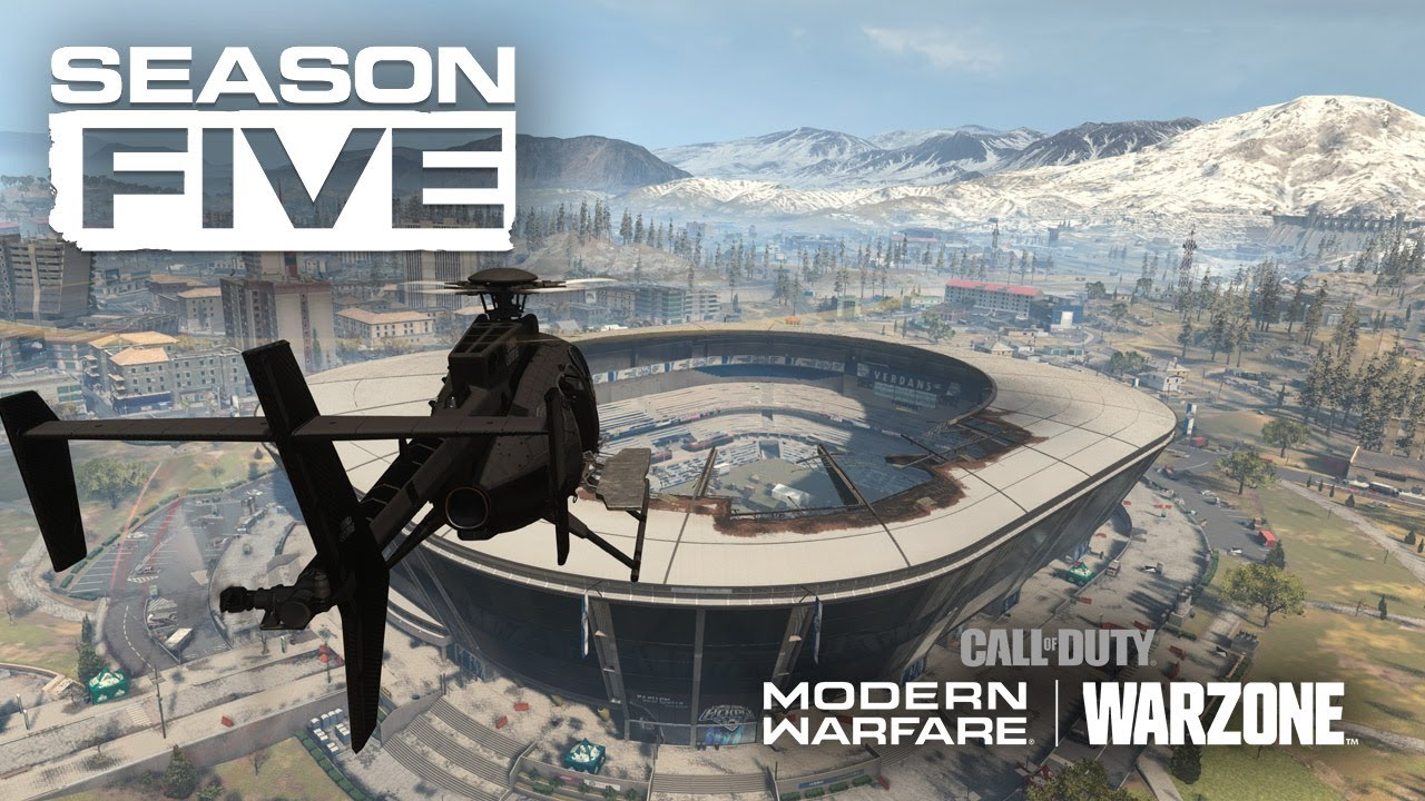 CoD Modern Warfare Warzone Season Five Trailer