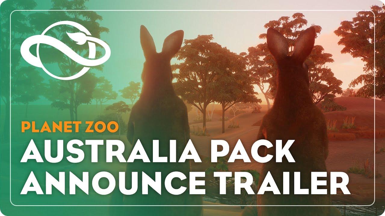Planet Zoo Austalia Pack Announcement