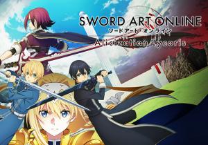 SWORD ART ONLINE Alicization Lycoris Game Profile Image