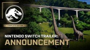 Jurassic World Evolution Complete Edition Switch Trailer