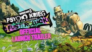 Borderlands 3 Psycho Krieg Fustercluck Launch Trailer