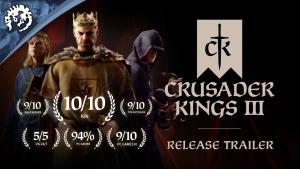 Crusader Kings III Launch Trailer