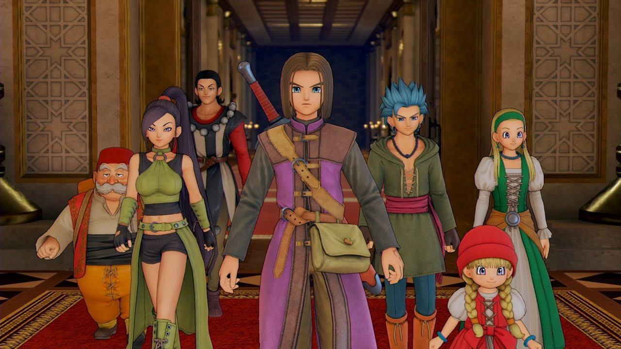 Dragon Quest XI S TGS 2020 Trailer