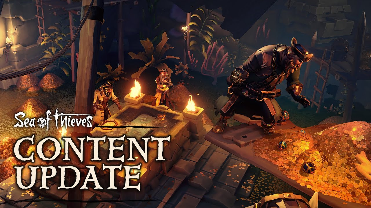 Sea of Thieves Vaults of the Ancients Trailer