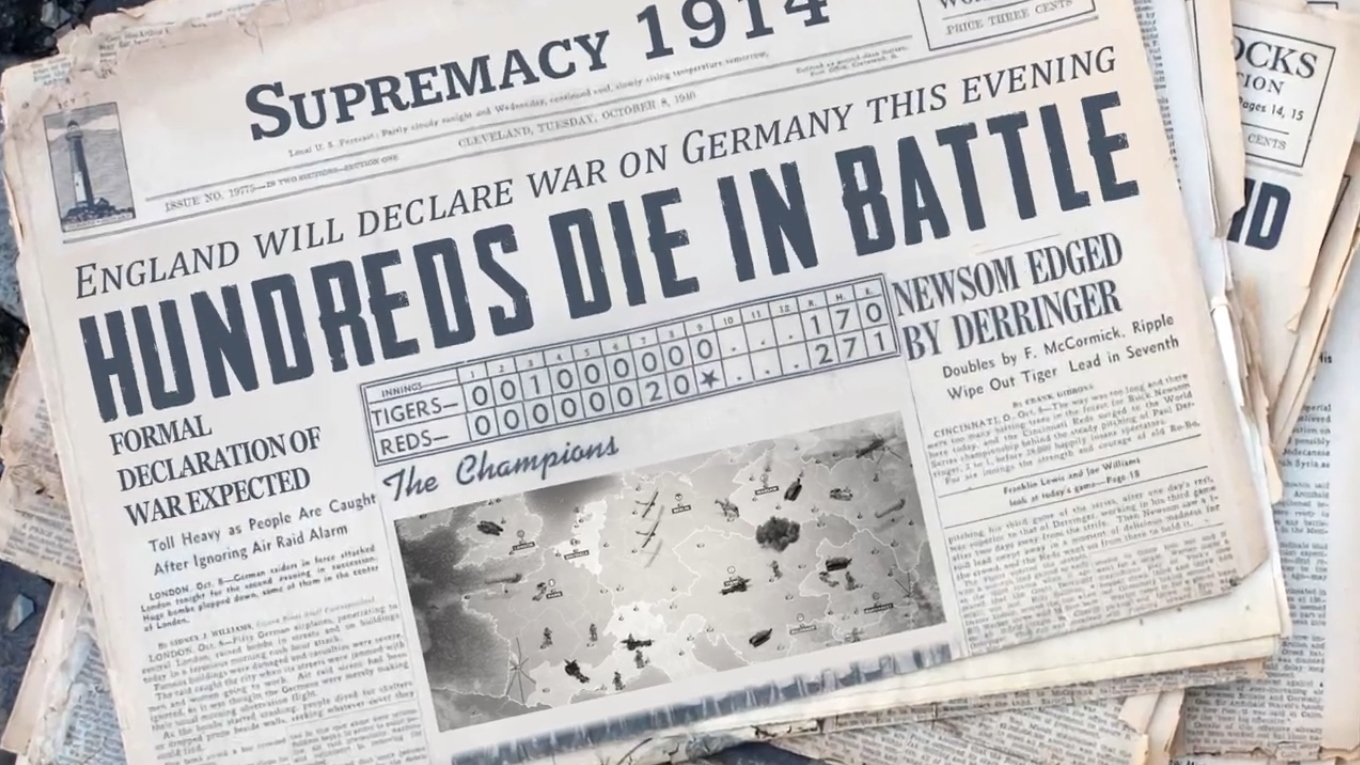 Supremacy 1914 Gameplay Trailer