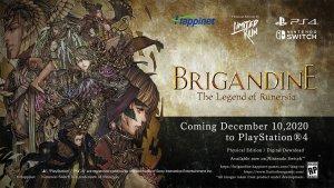 Brigandine PS4 Release Date Announcement