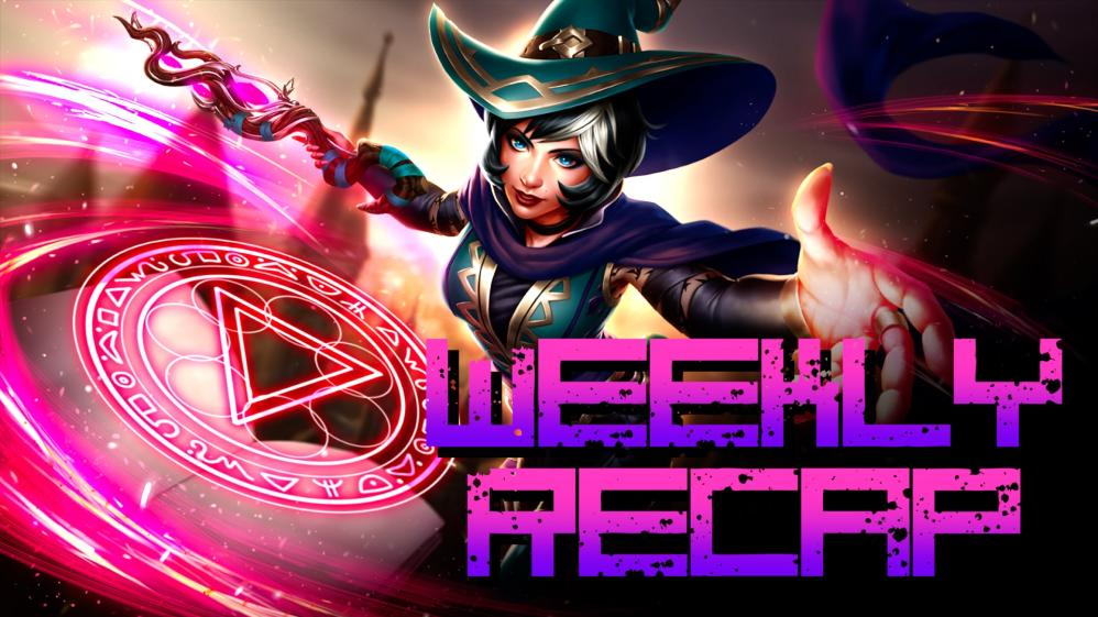 Weekly Recap (Art: Paladins)