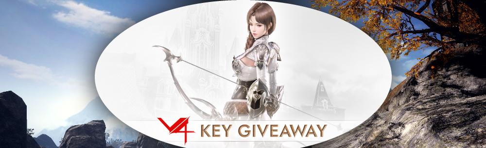 V4 Key Giveaway