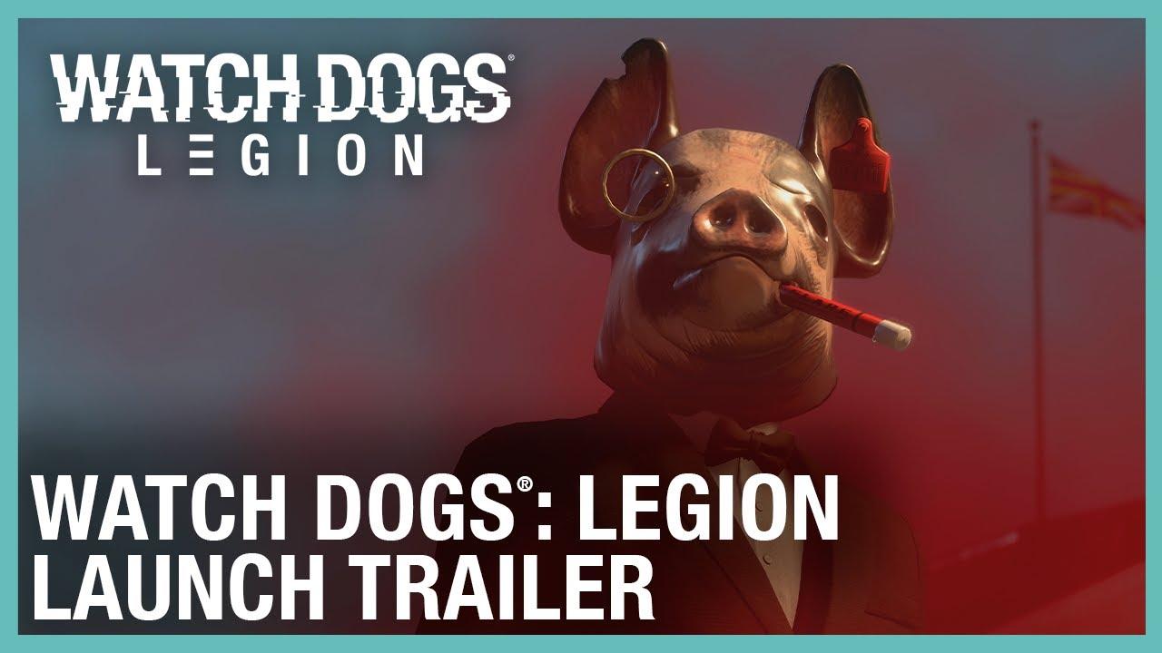 Watch Dogs Legion Launch Trailer