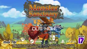 Monster Sanctuary Launch Trailer