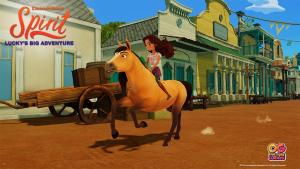 Dreamworks Spirit Lucky's Big Adventure Announce