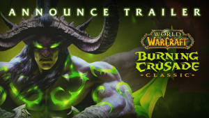 World of Warcraft Classic Burning Crusade Announcement