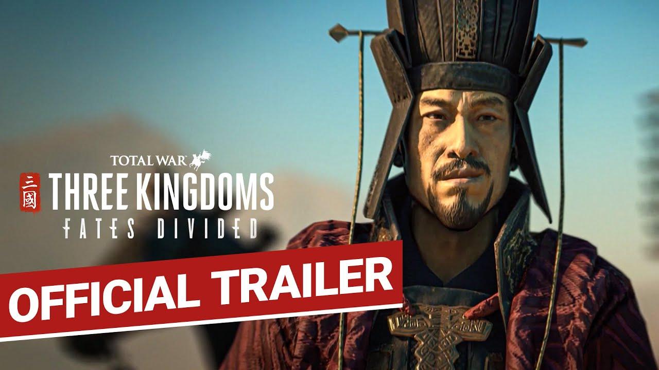 Total War Three Kingdoms Fates Divided Announcement