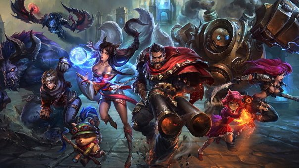 League of Legends MMORPG From Riot Games is On the Way