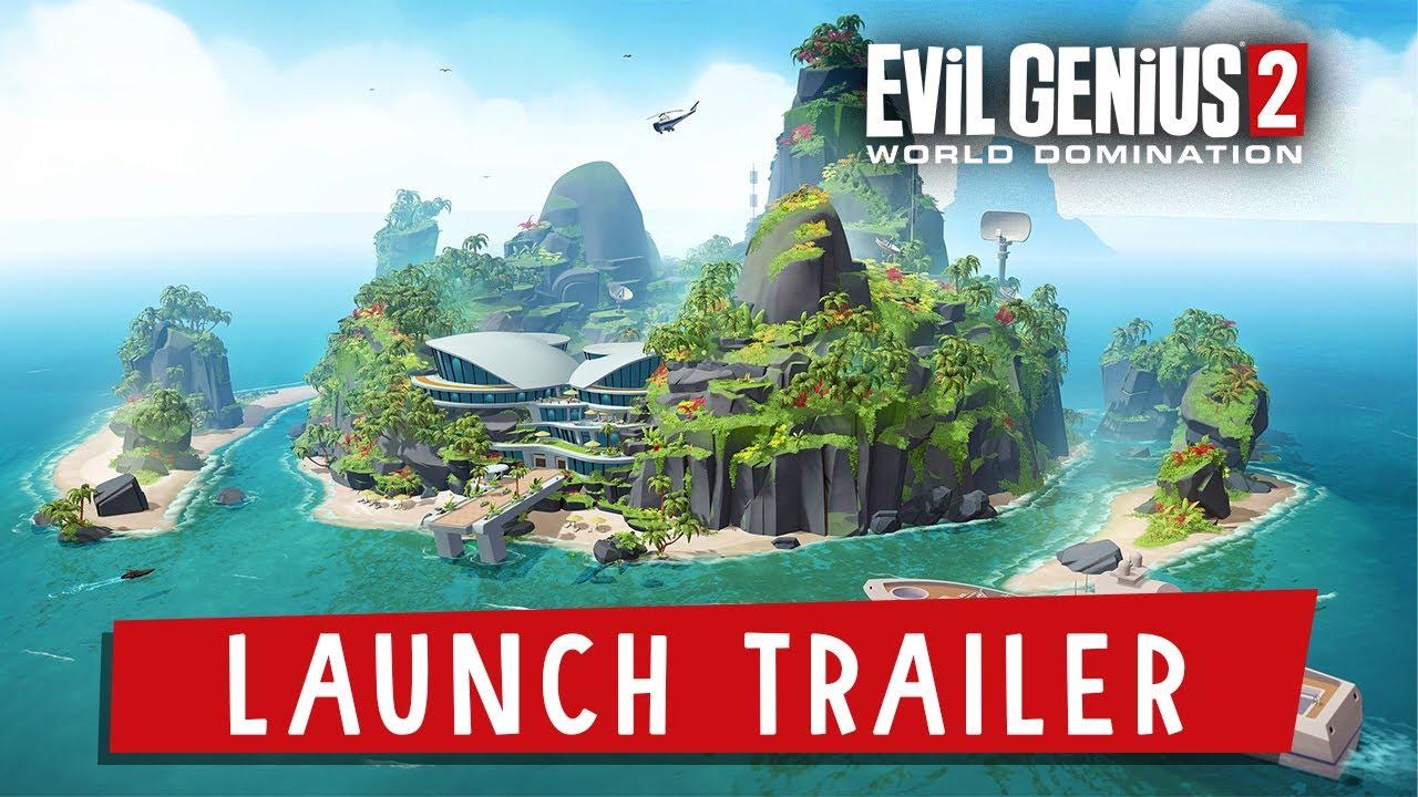 Evil Genius 2 Launch Trailer