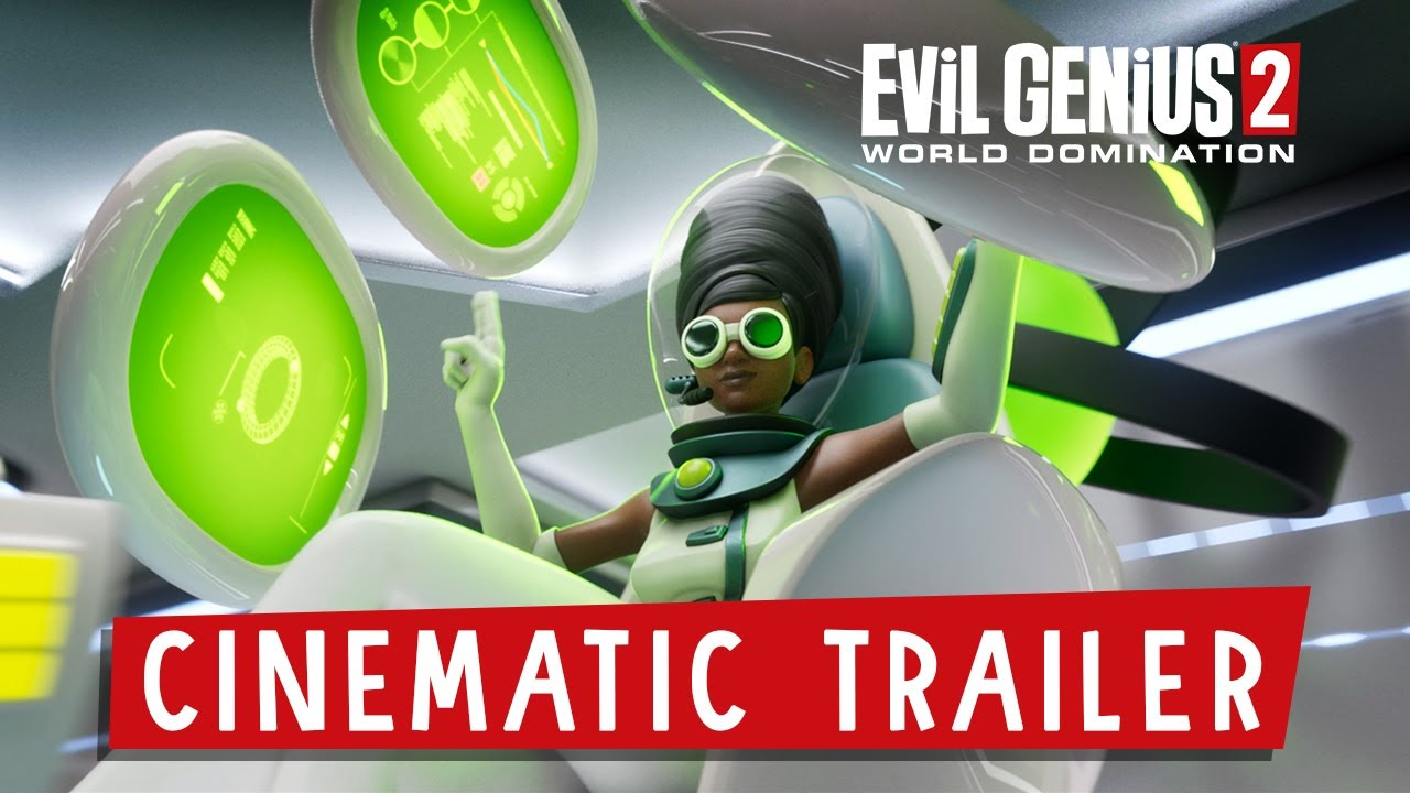 Evil Genius 2 World Domination Cinematic