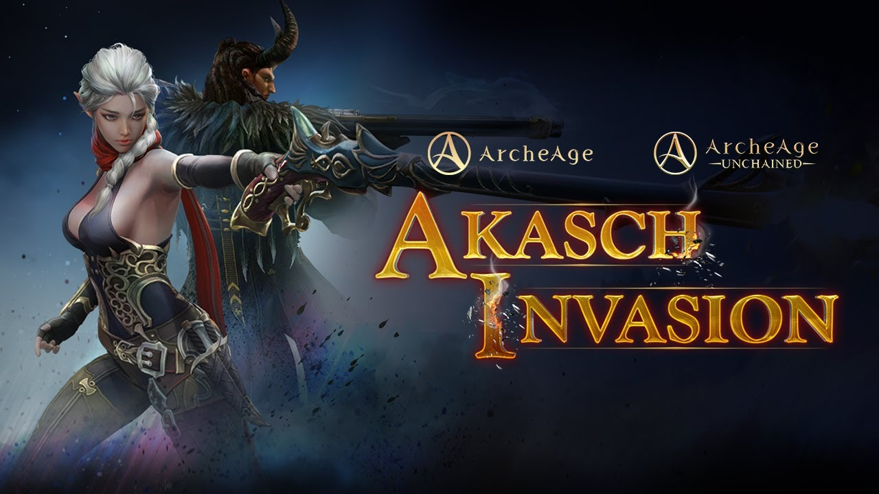 Archeage & Archeage Unchained Akasch Invasion