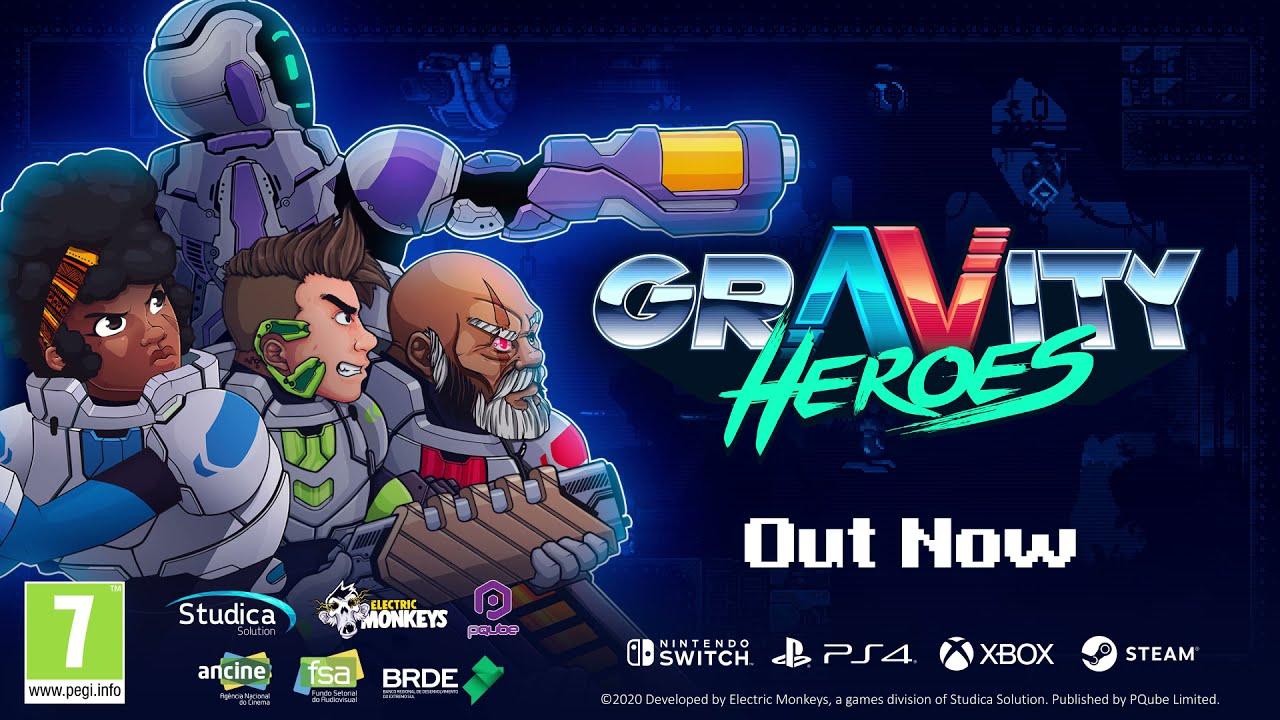 Gravity Heroes Launch