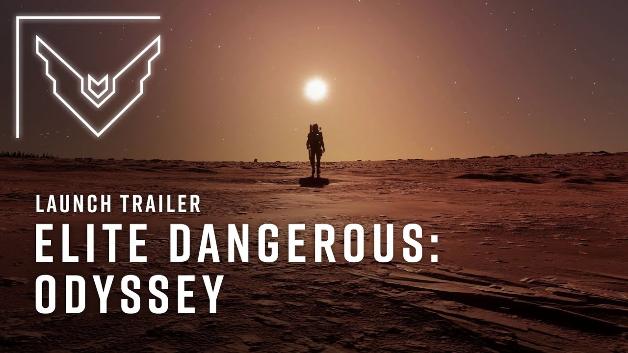 Elite Dangerous Odyssey Launch