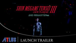 Shin Megami Tensei III Nocturne HD Remaster Launch