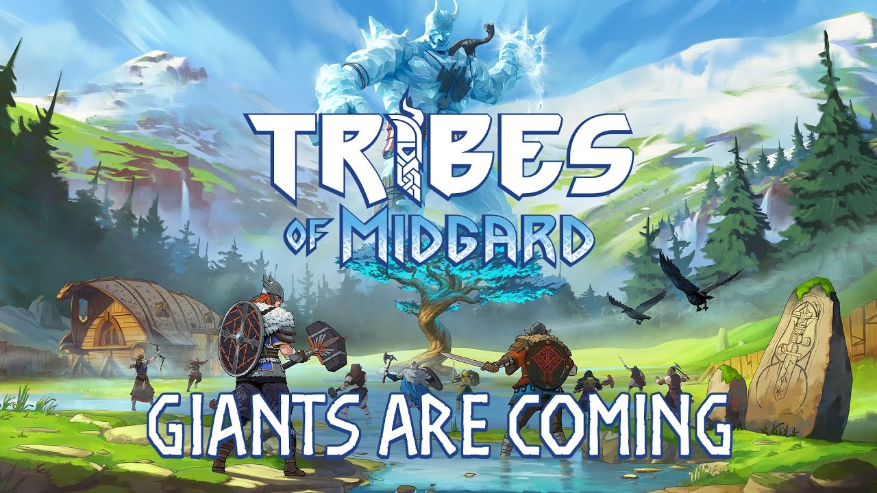 Tribes of Midgard Release Date Announcement