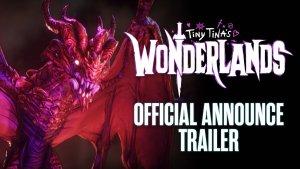 Tiny Tina's Wonderlands Official Announce