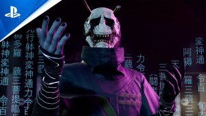 Ghostwire Tokyo PlayStation Showcase 2021 Hannya Official Gameplay